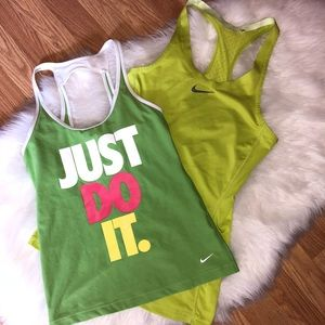 Nike Just Do It Athletic Tank Bundle